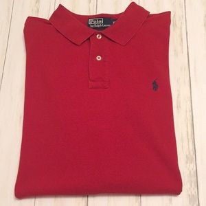 Ralph Lauren Polo. Size XXL. Color Red.